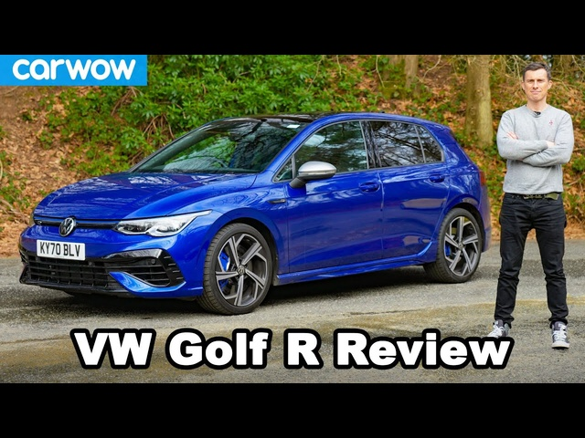 VW Golf R 2021 review: see how quick it really is 0-60mph!