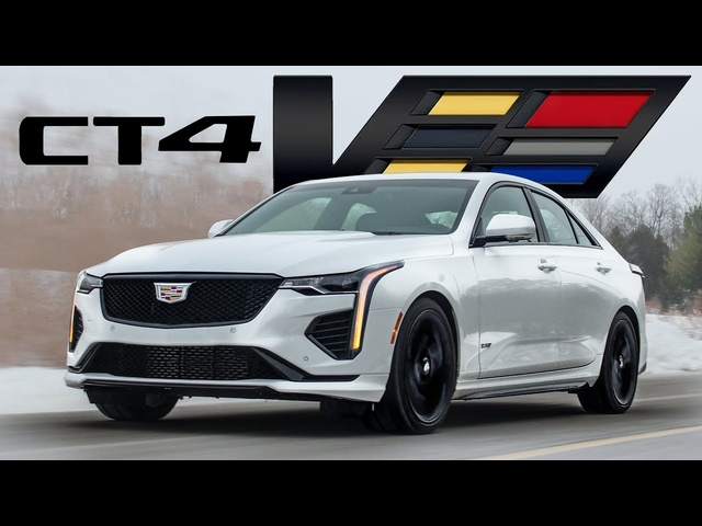UNREAL! 2021 Cadillac CT4-V Review