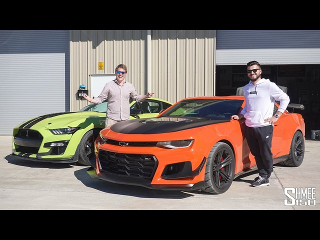 Visiting Itsjusta6 and His New Camaro ZL1 1LE! Full Workshop Tour