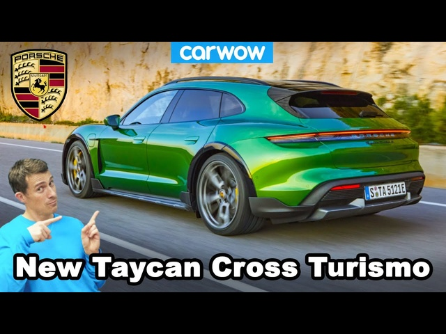 New Porsche Taycan Cross Turismo 2021 - the world's quickest estate!
