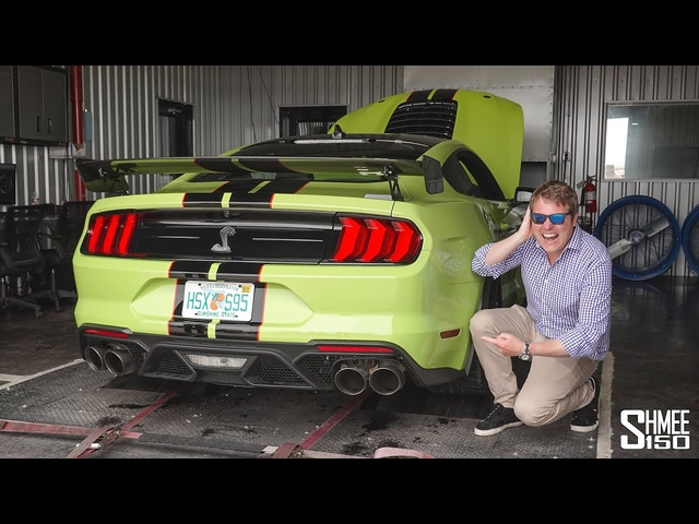 TIME TO UNLEASH! My Shelby GT500 on the Dyno and Destroying Tires
