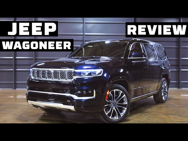 The Jeep Grand Wagoneer is Back! FIRST LOOK | MotorTrend
