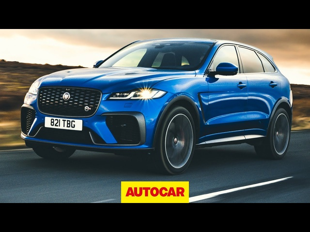 Jaguar F-Pace SVR 2021 review | Supercharged V8 SUV tested | Autocar