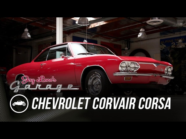 Unsafe At Any Speed? 1966 <em>Chevrolet</em> Corvair Corsa - Jay Leno's Garage
