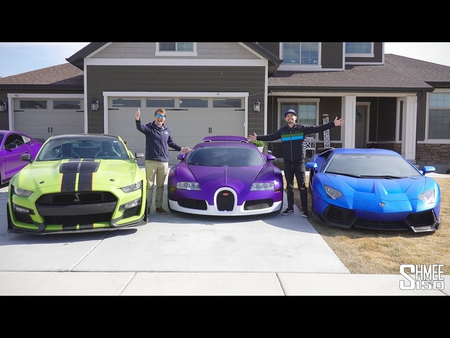 TheStradman <em>BUGATTI</em> VEYRON and COLLECTION TOUR!