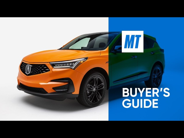 REVIEW: 2021 Acura RDX A-Spec AWD | MotorTrend Buyer's Guide