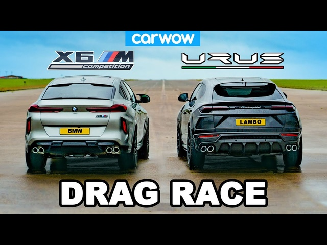 Lamborghini Urus v <em>BMW</em> X6M -DRAG RACE