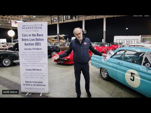 2021 Silverstone Auctions Race Retro Live online auction preview
