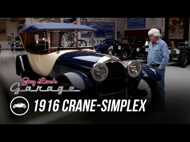 1916 Crane-Simplex Model 5 Holbrook Skiff -Jay Leno's Garage