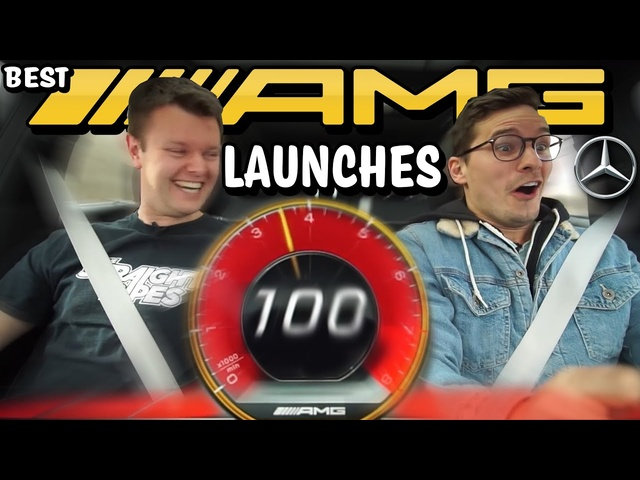 Best Mercedes-AMG LAUNCH CONTROL Reactions