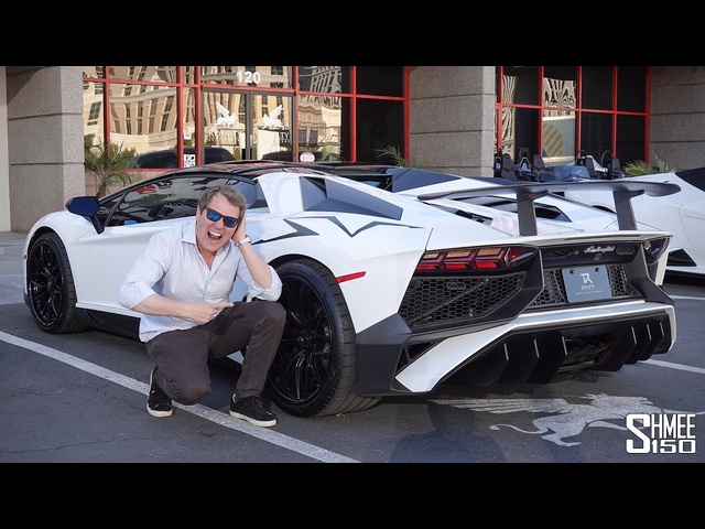 STEVE AOKI's Lamborghini Aventador SV Makes for a CRAZY Ride!
