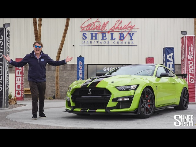SHELBY MANIA! 200x GT500 and GT350 Visit the HQ Heritage Center