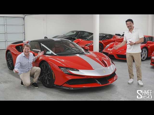 <em>Ferrari</em> SF90 Stradale DELIVERY DAY! David Lee's Newest Supercar in the Garage