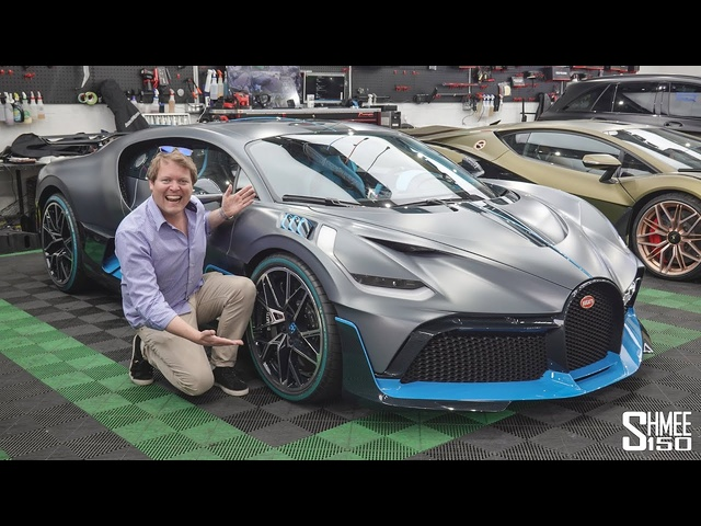 My FIRST RIDE in a $5.8m <em>Bugatti</em> Divo!