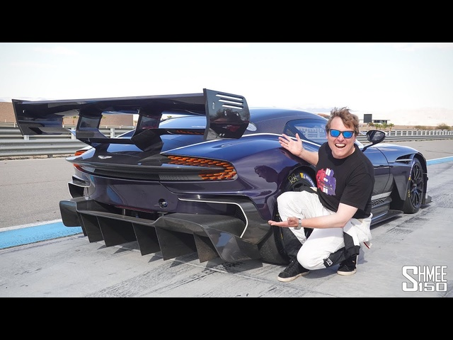 Aston Martin VULCAN AMR PRO! Onboard the Insane Track Hypercar