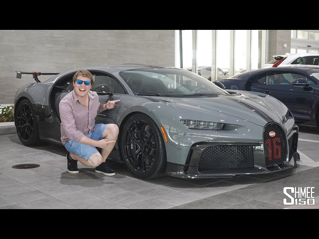 NEW Bugatti Chiron Pur Sport! Test Drive in Miami