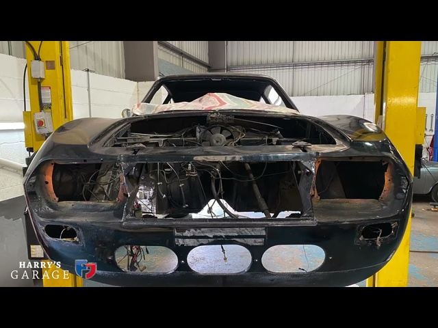 Lancia Fulvia Zagato 1600 restoration part 3