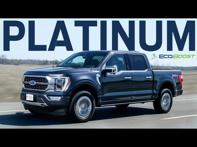 LUXURIOUS! 2021 <em>Ford</em> F-150 Platinum EcoBoost Review