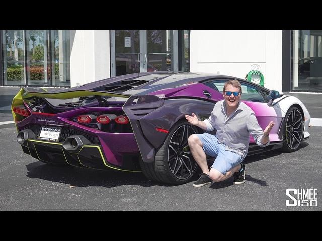 My FIRST DRIVE in the Lamborghini SIAN!