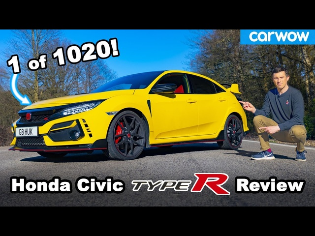 Civic Type R Limited Edition 2021 review - the BEST hot <em>Honda</em> EVER!