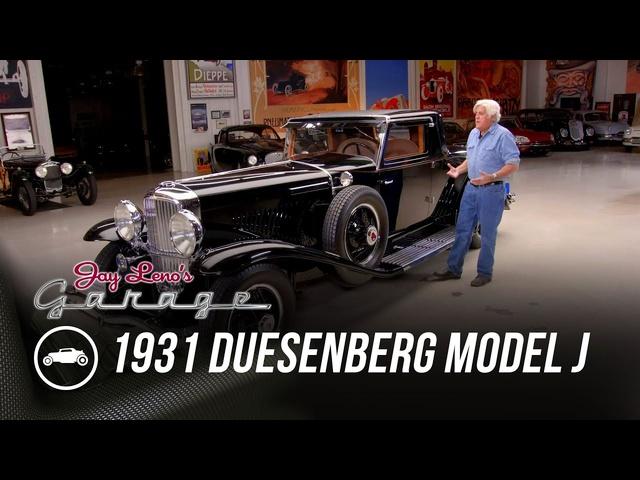 1931 Duesenberg Model J LaGrande Coupe -Jay Leno's Garage