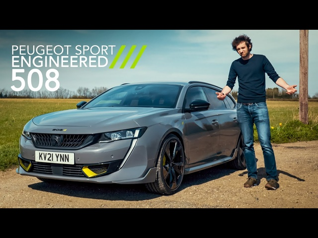 NEW Peugeot 508 SW Sport Engineered Review: Their Most POWERFUL Road Car Ever! | Carfection 4K