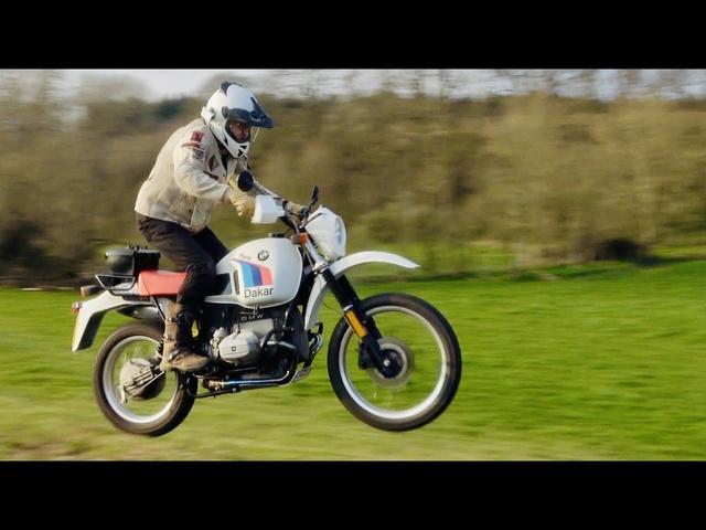 BMW R80 G/S Paris Dakar review. The classic bikes that won Dakar. Part 2 of 6.