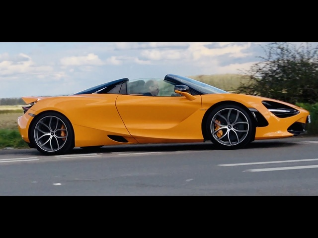 2021 McLaren 720S Spider review. They're getting to be great value but this or the <em>Ferrari</em> F8?