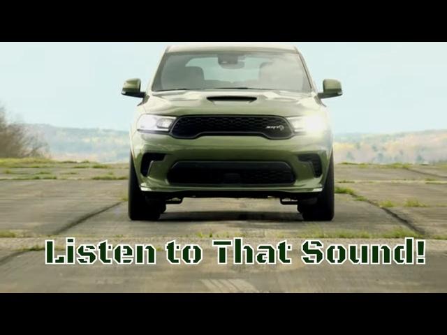 2021 Dodge Durango SRT Hellcat   ADeposit in the Family Fun Bag