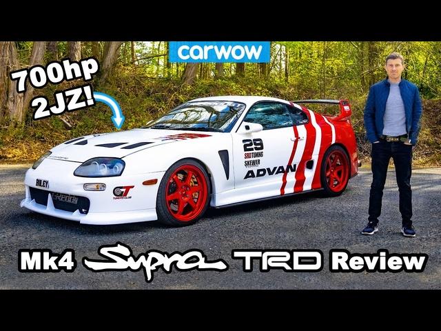 <em>Toyota</em> Supra Mk4 TRD review -the best Supra EVER?!