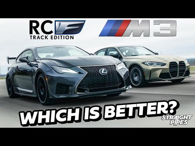 RIVALS? 2021 Lexus RCF Track Edition vs BMW M3