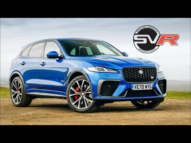 2021 Jaguar F-Pace SVR Review: 542bhp Supercharged V8 SUV | Carfection 4K