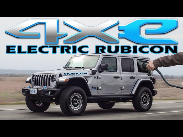SILENT! 2021 Jeep Wrangler 4xE Review