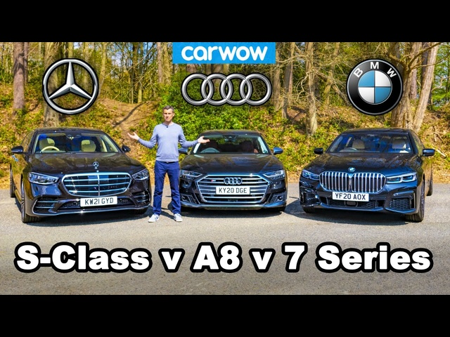 <em>Mercedes</em> S-Class v BMW 7 Series v Audi A8 review -which is best?