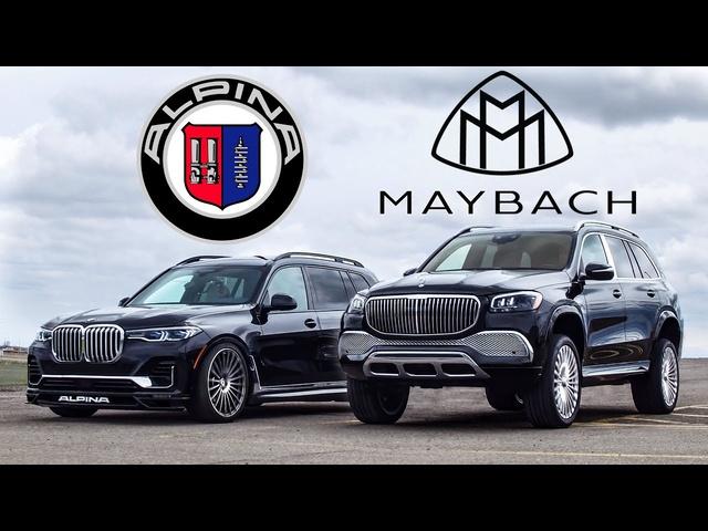 BIG MONEY! 2021 Maybach GLS 600 vs <em>BMW</em> Alpina XB7