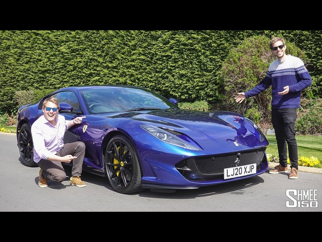 Ferrari 812 Superfast COLLECTION DAY! My Friend's New Supercar