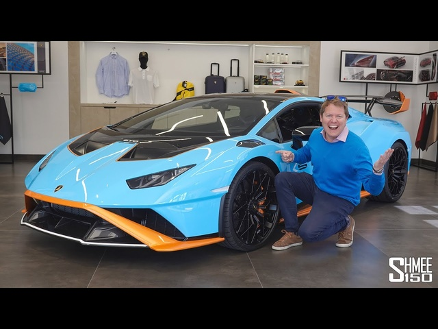 This is the OUTRAGEOUS SPEC for My Lamborghini Huracan STO!