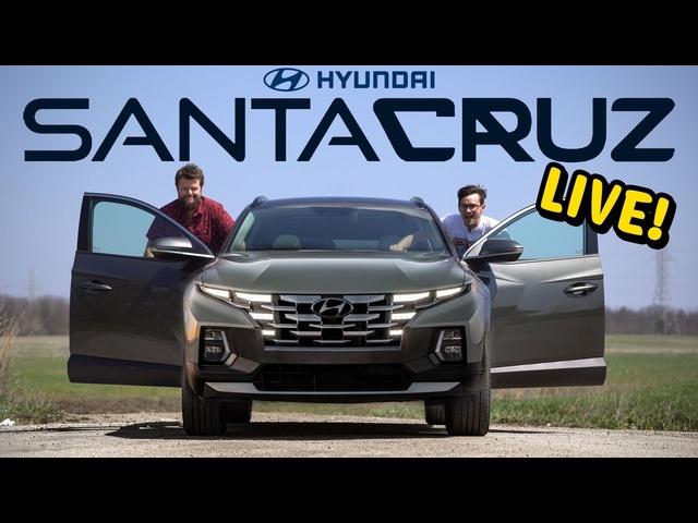 Hyundai Santa Cruz Truck LIVE!!!