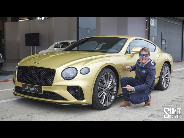 THIS is the New 208mph 2021 Bentley GT Speed! FIRST DRIVE