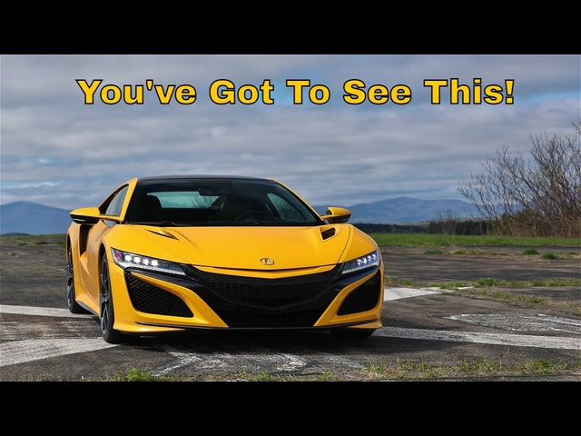 2021 Acura NSX | Speed Addict, Attention Magnet