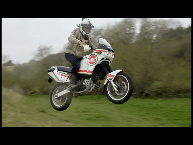 Cagiva Elefant 900ie review (Ducati 900SS engine). The classic bikes that won Dakar. Part 5 of 6