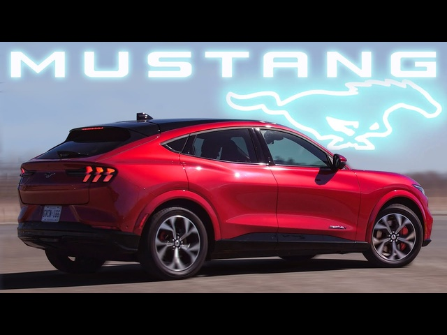 LIKE ATESLA? 2021 Ford Mustang Mach-E First Edition Review