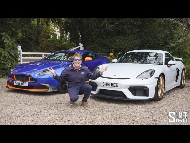 My Best Driver's Car? Aston Martin GT8 vs Porsche 718 Cayman GT4