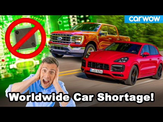 See how a Texas snowstorm delayed delivery of 5m cars worldwide!