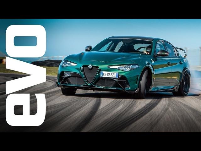 Alfa Romeo Giulia GTAm – afour-door 911 GT3? | evo LEADERBOARD