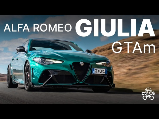 2021 Alfa Romeo Giulia GTAm | PH Review | PistonHeads