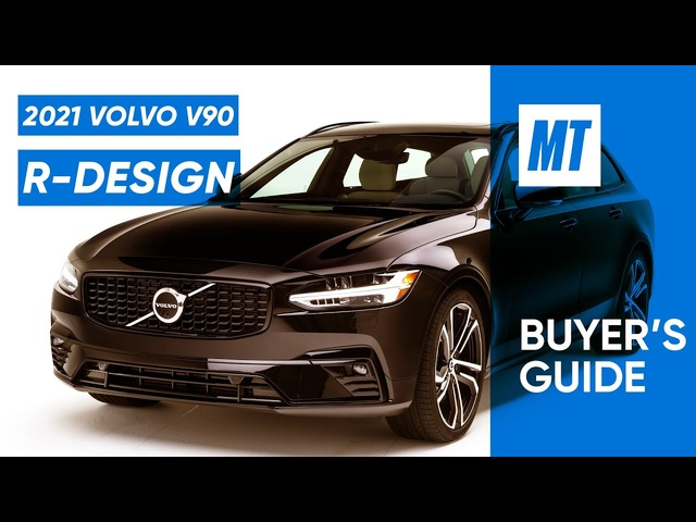 """""""Get aWagon over an SUV!"""" 2021 Volvo V90 Review 