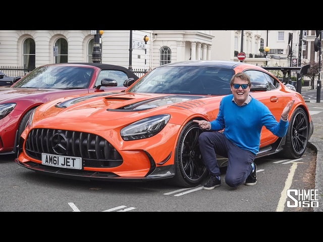 Where is My AMG GT Black Series?