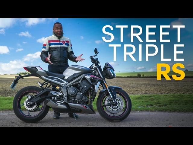 Triumph Street Triple RS Review: Middleweight Naked FUN | 4K