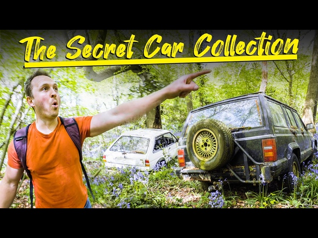 Exploring ASecret Car Collection In The Woods